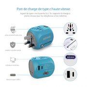 Adaptateur-de-Voyage-Prise-de-Courant-Universelle-Milool-Chargeur-Mural-International-Tout-en-Un-Convertisseur-AC-avec-Ports-USB-et-Type-C-pour-USA-AU-Asie-UK-et-Plus-de-150-Pays-Bleu-0-4