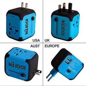 Adaptateur-de-Voyage-avec-2-USB-Adaptateur-Universel-Pris-de-Courant-pour-UEUS-UKAUS-Utilis-dans-Plus-de-150-Pays-Adaptateur-Chargeur-avec-Deux-fusiblefusible-de-Rechange-Bleu-MILOOL-0-2