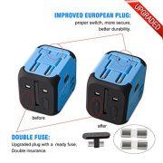 Adaptateur-de-Voyage-avec-2-USB-Adaptateur-Universel-Pris-de-Courant-pour-UEUS-UKAUS-Utilis-dans-Plus-de-150-Pays-Adaptateur-Chargeur-avec-Deux-fusiblefusible-de-Rechange-Bleu-MILOOL-0-3