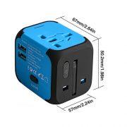 Adaptateur-de-Voyage-avec-2-USB-Adaptateur-Universel-Pris-de-Courant-pour-UEUS-UKAUS-Utilis-dans-Plus-de-150-Pays-Adaptateur-Chargeur-avec-Deux-fusiblefusible-de-Rechange-Bleu-MILOOL-0-4