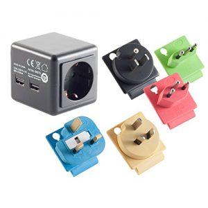 Prise-de-Voyage-avec-2-x-USB-Classe-de-Protection-1-certifi-TV-0