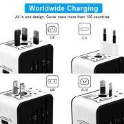 iVoler-Garantie--Vie-Adaptateur-de-Voyage-avec-2-USB-Adaptateur-Universel-Pris-de-Courant-pour-UEUSUKAUS-Utilis-dans-Plus-de-150-Pays-Adaptateur-Chargeur-Blanc-0-0
