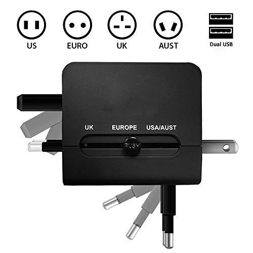 Adaptateur-International-de-Voyage-Chargeur-avec-Deux-USB-21-A-et-Prises-murales-universelles-pour-UK-US-AU-Europe-et-Asie-et-fusible-de-scurit-0