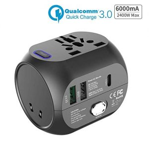 Adaptateur-de-Voyage-avec-QC30-Charge-Rapide-Type-c-et-USB-USEUUKAU-30W-Chargeur-Tout-en-Un-Multifonction-pour-Plus-de-150-Pays-2-fusibles-fusible-de-Rechange-0