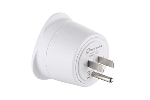 Electraline-70054-Adaptateur-de-voyage-FranceEurope-vers-Usa-2-Broches-Europe-vers-3-Broches-Usa-White-0