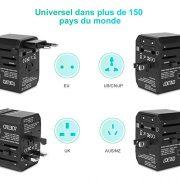 LOETAD-Adaptateur-Voyage-Adaptateur-Prise-Universel-avec-4-Ports-USB-30-et-1-Prises-Type-C-Convient--Un-quipement-de-2000-W-pour-EU-US-UK-AUS-Plus-de-150-Pays-0-0
